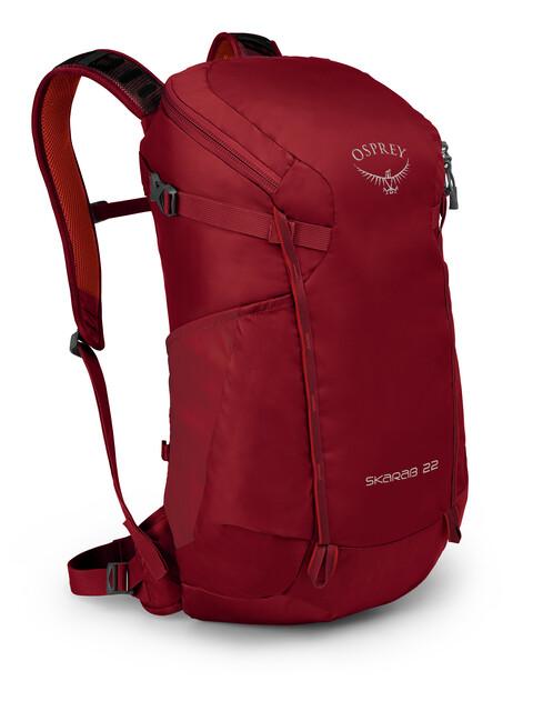 Osprey M's Skarab 22 Backpack Mystic Red